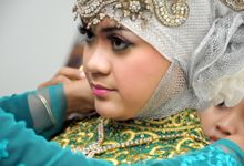 Islamic Glamorous Wedding by Az-zahra Professional Wedding Organizer