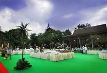 Soccer Field by Hotel Borobudur Jakarta