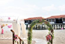 Romantic Beach Wedding by Avillion Port Dickson
