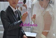 Wedding Day Of Edo & Christine by Edelweis Organizer