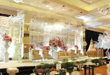 Fritz and Stacey Wedding JW Marriot by Lily Florist & Decoration
