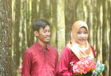 Rini and Ikhsan Prewedding by KSA photography