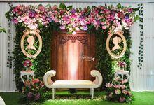 Wedding of Prayit & Dini 30 April 2017 by GLORIOSA FLOWER DESIGN