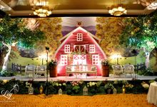 Classic village theme decor by Lily Florist & Decoration