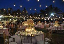 Wedding Dinner Davina & Handika by The Royal Santrian Luxury Beach Villa