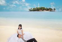 Tyo & Titi Prewedding Photo at Samber Gelap Island by de'Cappuccino Photography