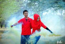 Prewedding Aong dan Lifa by Luki Photography