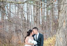 Fall Wedding by Joy Cruz Photography