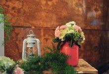 Rustic & Pink Romantic by Yulika Florist & Decor