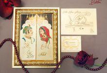 Haris & Maleka Invitation by Fancy Boon