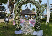 Greg and Shona Wedding by HOTEL NIKKO BALI BENOA BEACH