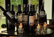 Wedding Dinner Lucky & Feliana by The Royal Santrian Luxury Beach Villa