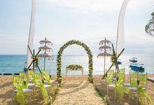 Exotic Balinese Wedding by Lembongan Beach Club and Resort