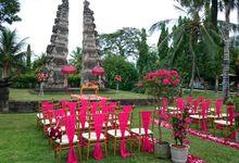 Red Wedding by Tanah Gajah, a Resort by Hadiprana