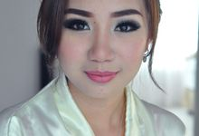 Racelly Wedding Makeup by Monica Husada Make Up Artist