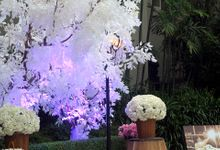 Wedding Decoration at Poolside by Sheraton Bandung Hotel & Towers