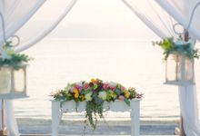 Just Two of Us Wedding by Lembongan Beach Club and Resort