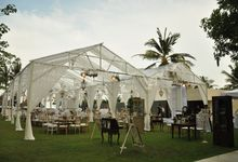 Wedding Dinner Arief & Mirna by The Royal Santrian Luxury Beach Villa