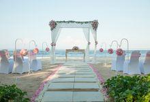 Wedding & Dinner of Henry & Polly by The Royal Santrian Luxury Beach Villa