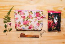 Sovenir Flowery Pouch by Plung Creativo