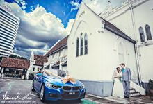 Church Actual Wedding day - CAROL & TUOMAS by Vincent Lee Photography