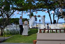WEDDING OF ALEX & NAOMI by Fairmont Sanur Beach Bali