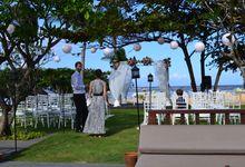 WEDDING OF ALEX & NAOMI by Fairmont Sanur Beach Bali