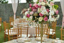 Wedding & Dinner Ongky and Stephanie by The Royal Santrian Luxury Beach Villa