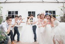 Bridesmaids & groomsmen photography by MsSecret make up & photography studio