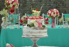 Wedding & Dinner Aditia and Olivia by The Royal Santrian Luxury Beach Villa