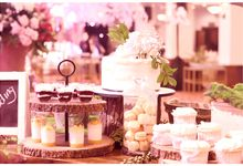 Elegant & Contemporary Rustic by Ivoire Cake Design