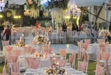 Wedding & Dinner of Kevin and Patricia by The Royal Santrian Luxury Beach Villa