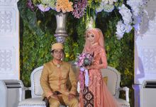Risya & Faza Wedding by Garland Galore Flower Shop