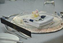 Wedding & Dinner Yonathan and Elve by The Royal Santrian Luxury Beach Villa