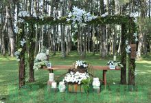 Rustic Theme Decoration by Home Smile Florist