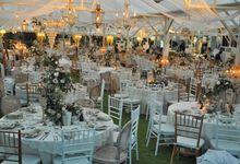 Wedding Dinner Henry & Claudia by The Royal Santrian Luxury Beach Villa