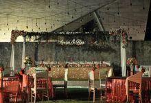 Wedding & Dinner Andri and Ria by The Royal Santrian Luxury Beach Villa