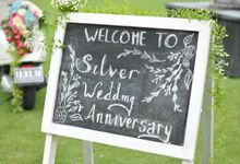 Wedding Anniversary & Dinner of Susinto and Magdalena by The Royal Santrian Luxury Beach Villa