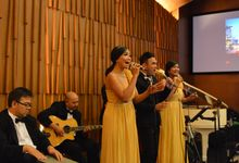 Julius & Stefani Wedding September 2015 by Nico Santoso Entertainment