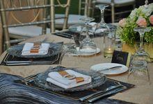 Wedding and Dinner Nesto & Nana by The Royal Santrian Luxury Beach Villa