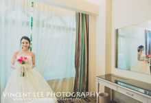 Actual Wedding Day - Liaw and  Masaki by Vincent Lee Photography