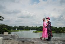prewedding outdoor amel & felix by Francis'k Bride