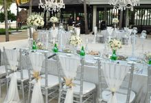 Wedding & Dinner of  Zen and Vina by The Royal Santrian Luxury Beach Villa