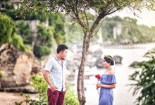 Danta & indah prewedding by Rudhia Salon & Photography