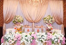 the Engagement Day by Rossely's Florist