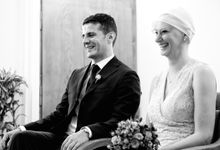 Civil Ceremony wedding by Stephen G Smith Photography