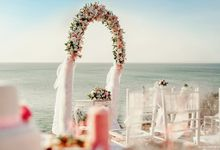 Cliff wedding by Bali Angels