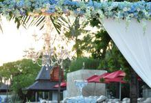 Wedding Dinner of Lai Ji & Liu Liu by The Royal Santrian Luxury Beach Villa