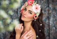 Says with flower by Christine Lie Make Up Artistry