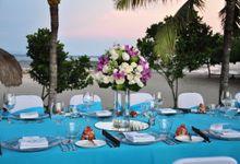 Wedding & Dinner Si Ai and Hui Zhong by The Royal Santrian Luxury Beach Villa
